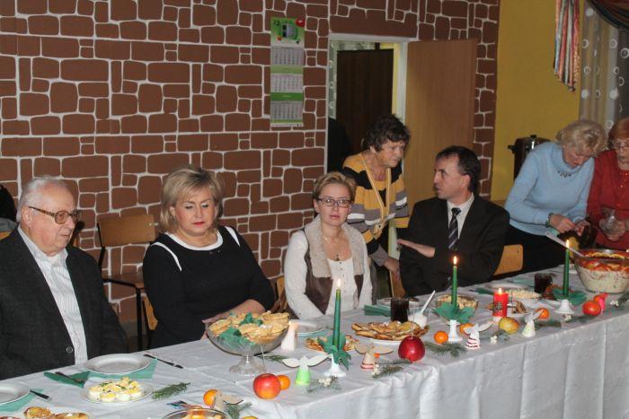 Spotkanie opłatkowe stowarzysznia (fot. uzup.)